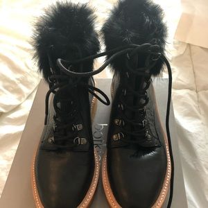 Botkier Shoes - Botkier boots with fur trim